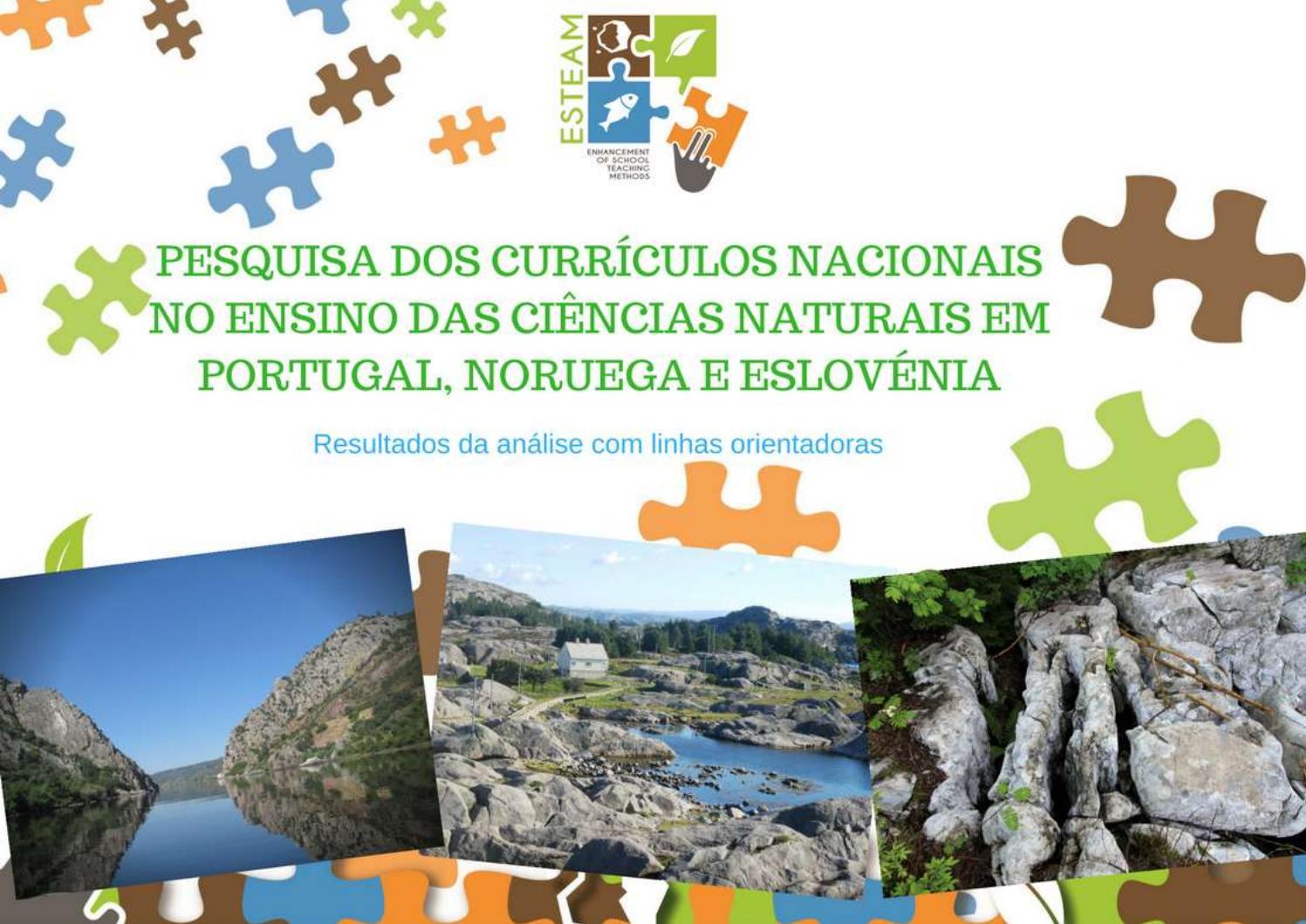 Pesquisa Dos Currículos Nacionais No Ensino Das Ciências