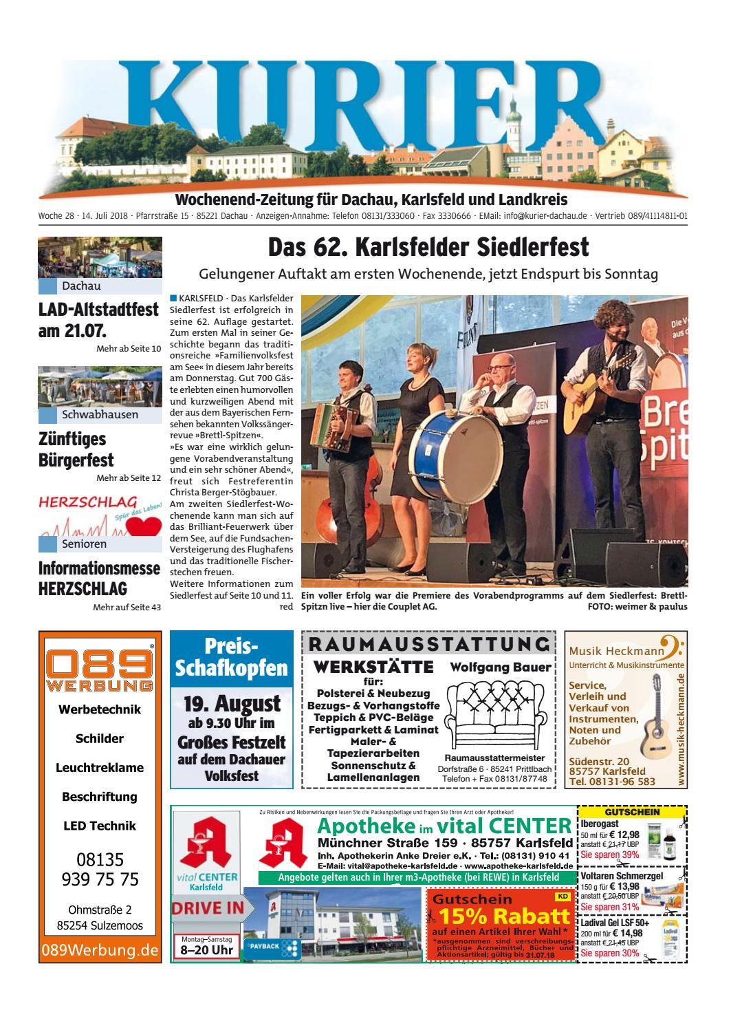 KW 28 2018 by Wochenanzeiger Me n GmbH issuu #2: page 1