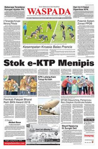 Waspada, Jumat 13 Juli 2018 by Harian Waspada - issuu