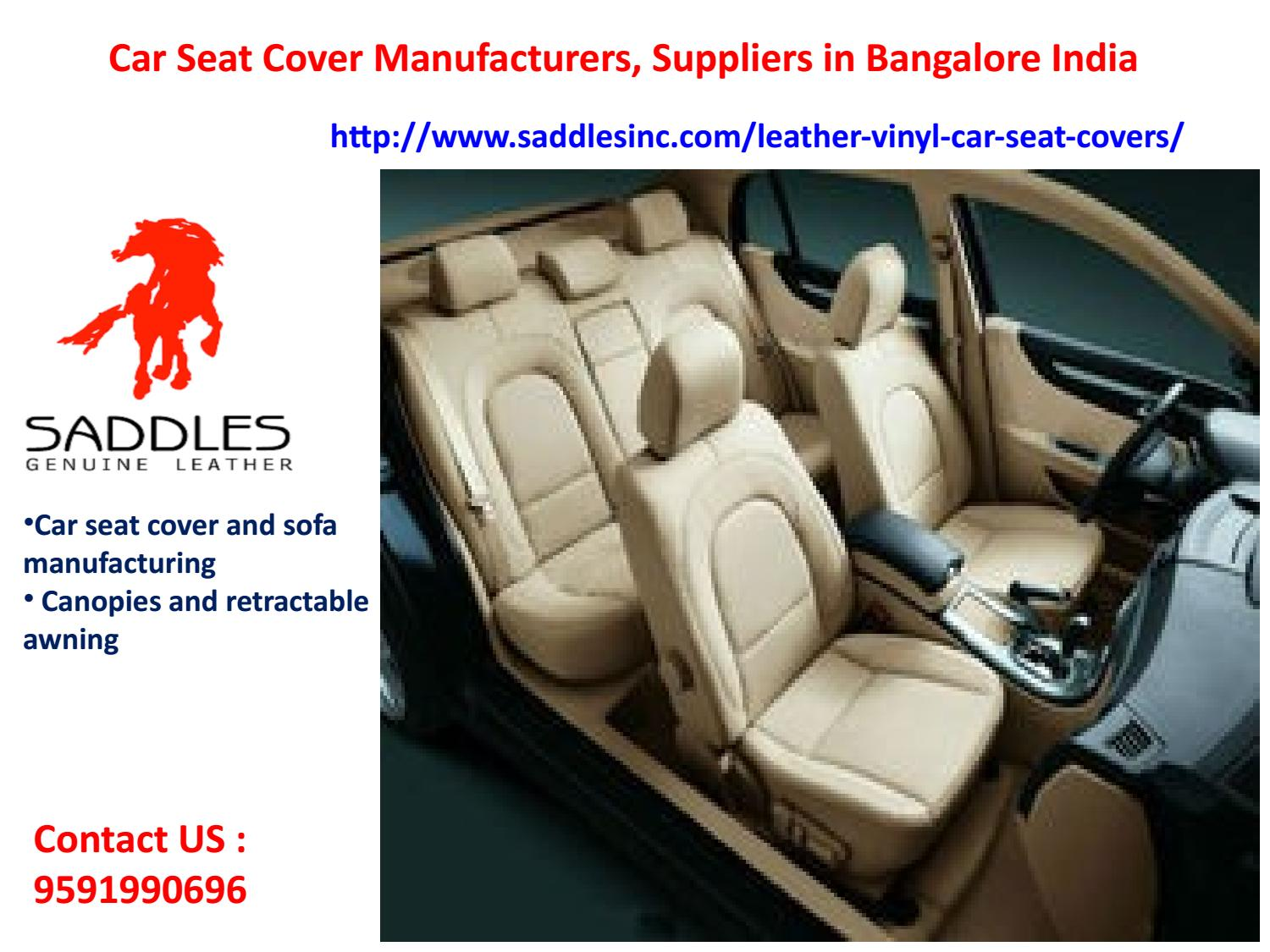 Car Seat Cover Manufacturers Suppliers In Bangalore India By Saddlesinc
