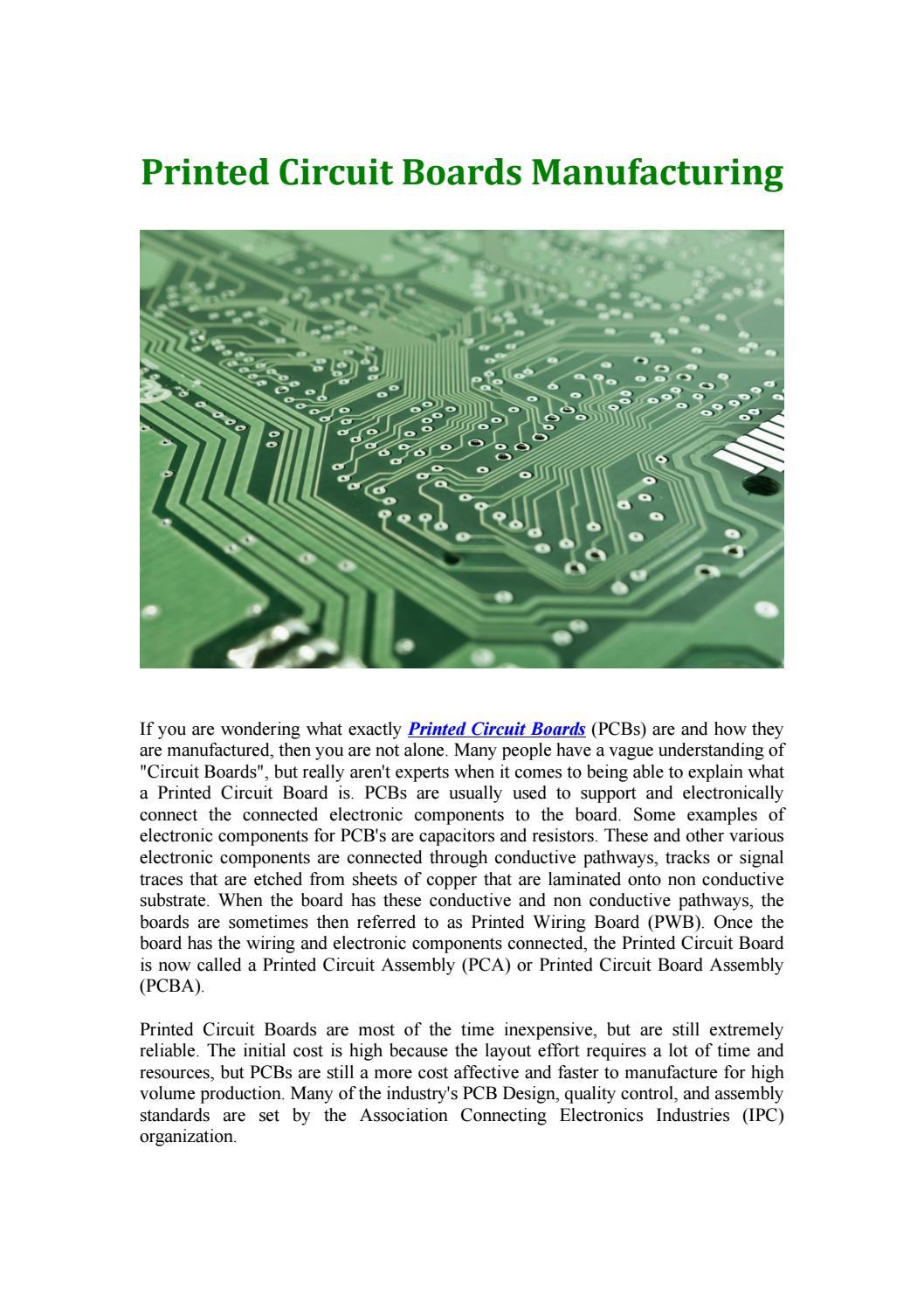 Printed Circuit Board by susanmartzweb - issuu