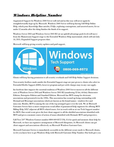 http://windows-support-me com by Maria Carter - issuu