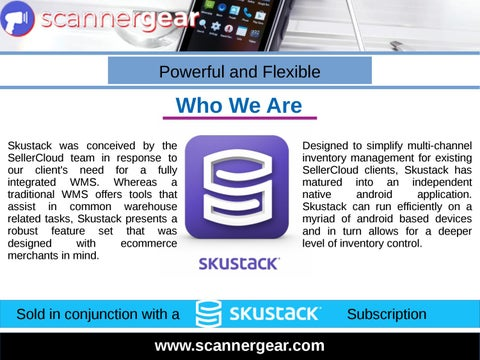 Android Mobile Computer Barcode Scanner by Scanner Gear - issuu