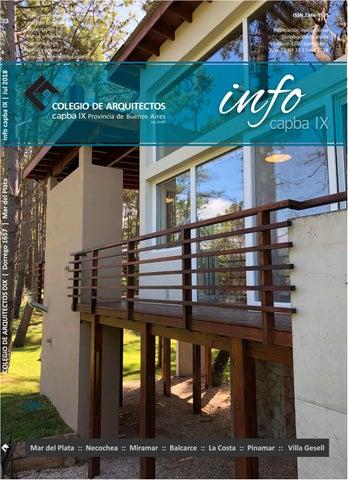 Info Capba Ix Nº 23 By Colegio De Arquitectos De La Provincia De