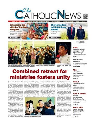 Catholic News Issue 14 2018 by CatholicNews - issuu