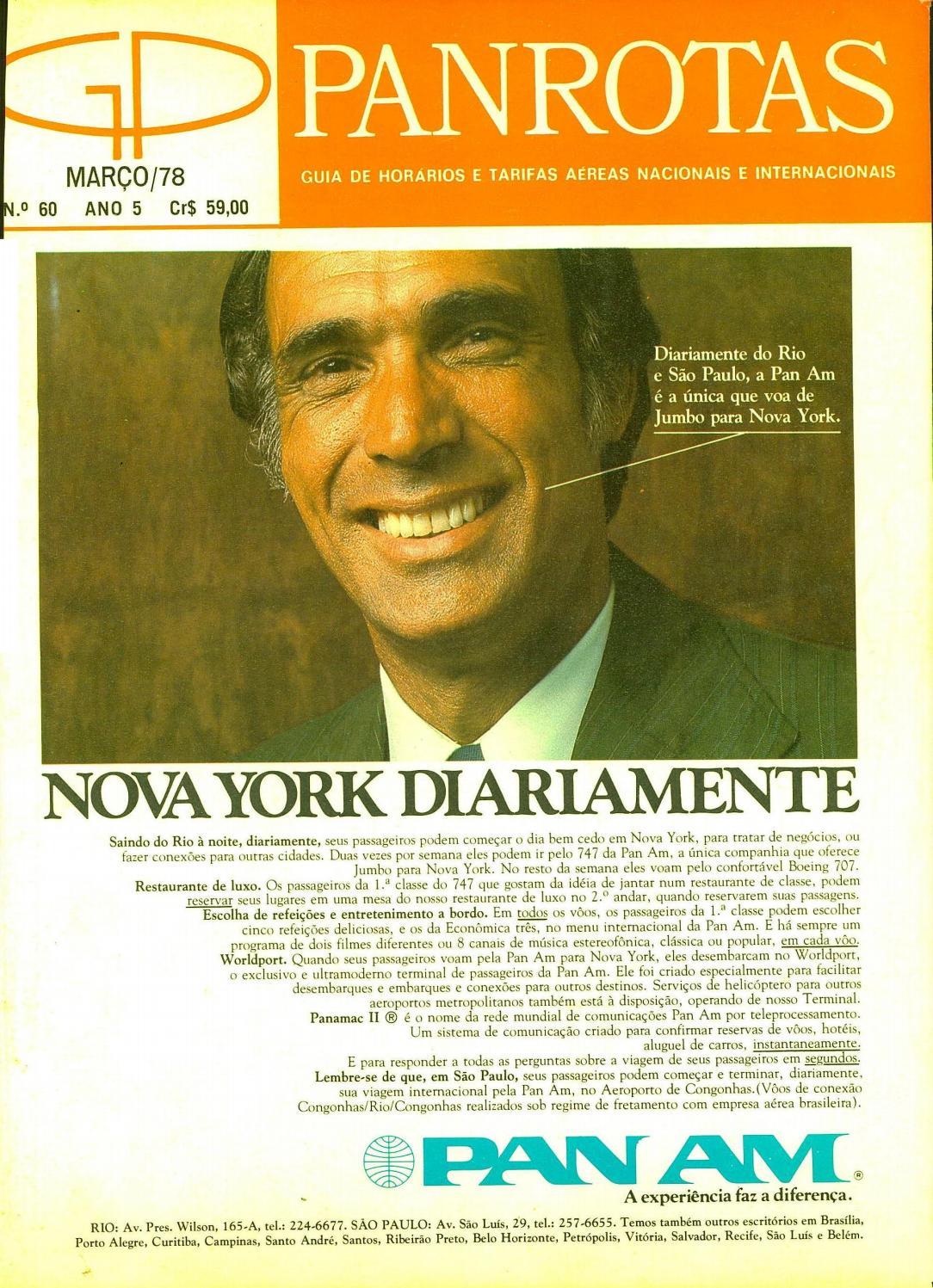 guia panrotas edição 60 março 1978 by panrotas editora issuu