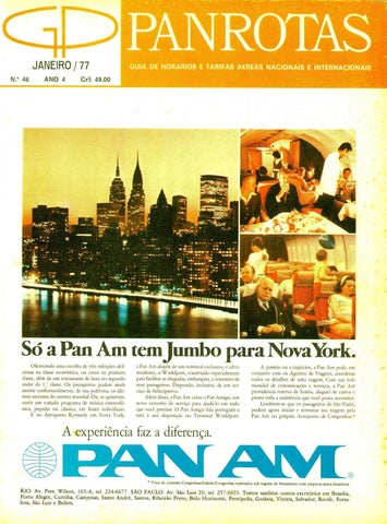 45f7f8d430b Guia PANROTAS - Edição 166 - Janeiro 1987 by PANROTAS Editora - issuu