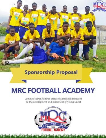 MRC Football Academy Proposal by MRC Football Academy - issuu