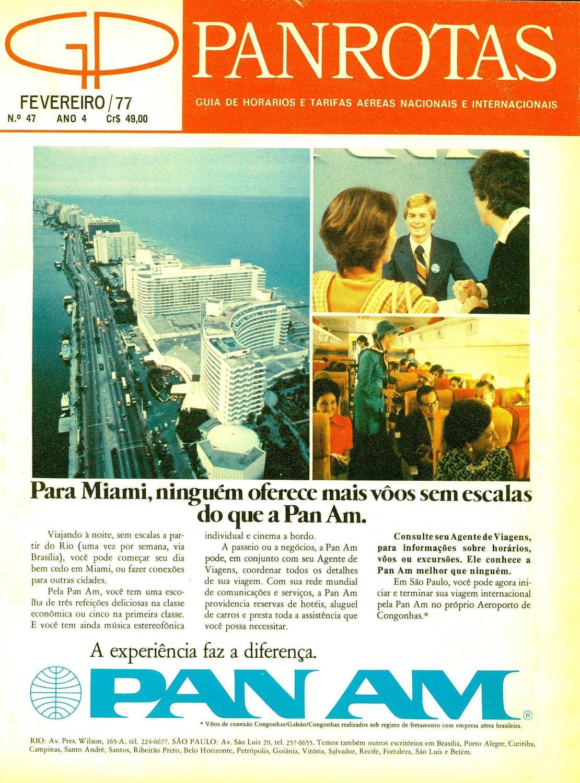 c25da34a8 Guia PANROTAS - Edição 47 - Fevereiro 1977 by PANROTAS Editora - issuu