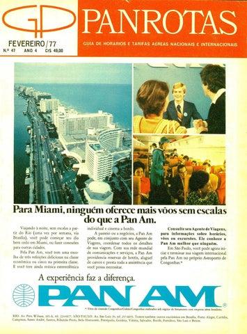 d61a93fe2 Guia PANROTAS - Edição 47 - Fevereiro 1977 by PANROTAS Editora - issuu