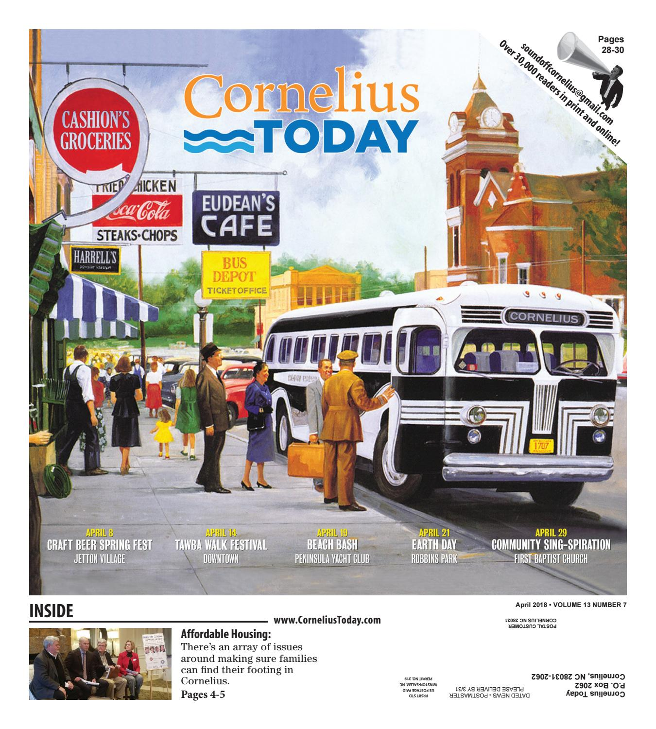 Cornelius Today April 2018 by Business Today Cornelius Today issuu