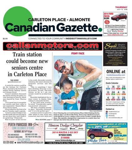 30e3b93124 Almonte Carleton Place Canadian Gazette July 12