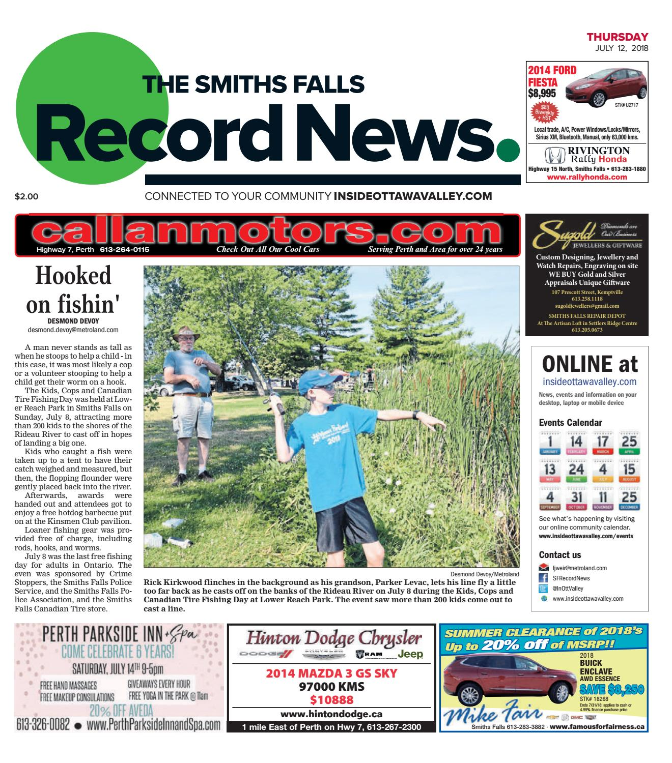 Smiths Falls Record News July 12 2018 By Metroland East Whirlpool Quiet Partner Ii Dishwasher Schematic Wiring Review Ebooks Issuu