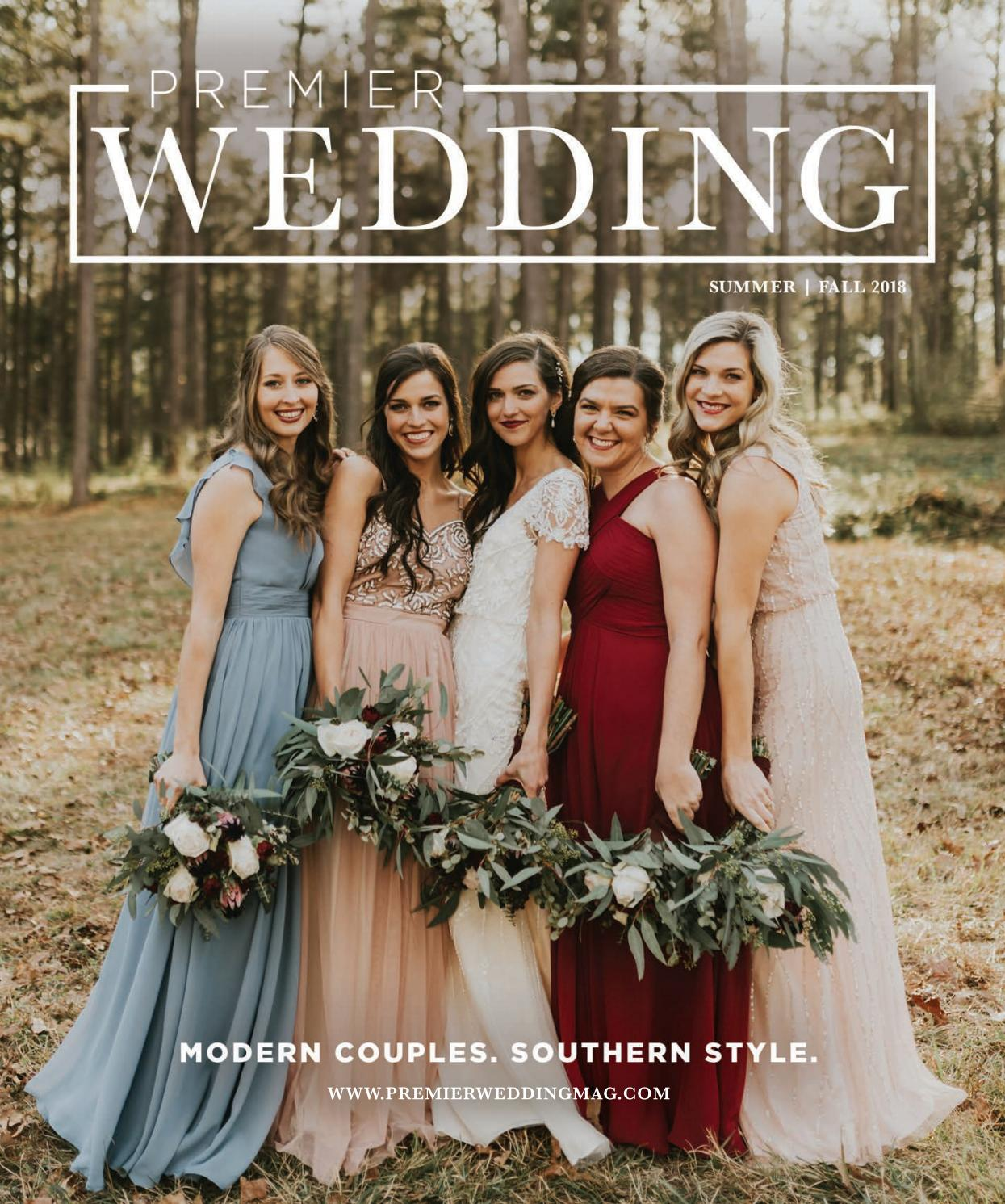 Premier Wedding Magazine Vol 33 Summer/Fall 2018 by Premier Wedding ...