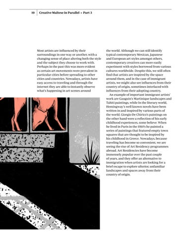 Page 19 of Artists, Identities, and a changing Evironment