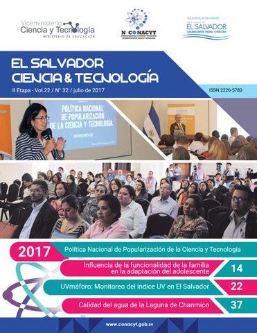 8f9700963a EL SALVADOR CIENCIA & TECNOLOGIA II Etapa - Vol.22 / N° 32 / julio de 2017
