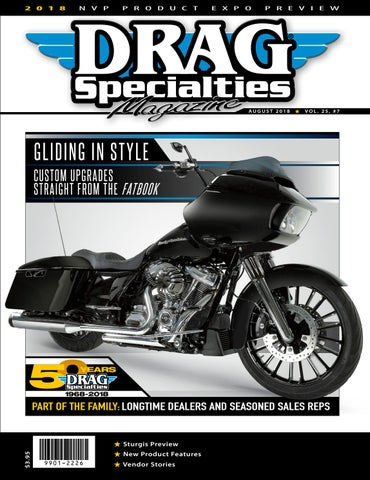 Drag Specialties Magazine - August 2018 by Drag Specialties