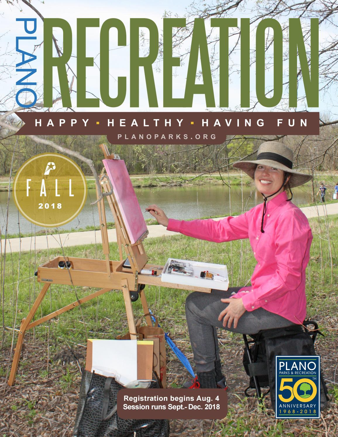 Plano Recreation Fall 2018 By Plano Parks And Recreation Issuu