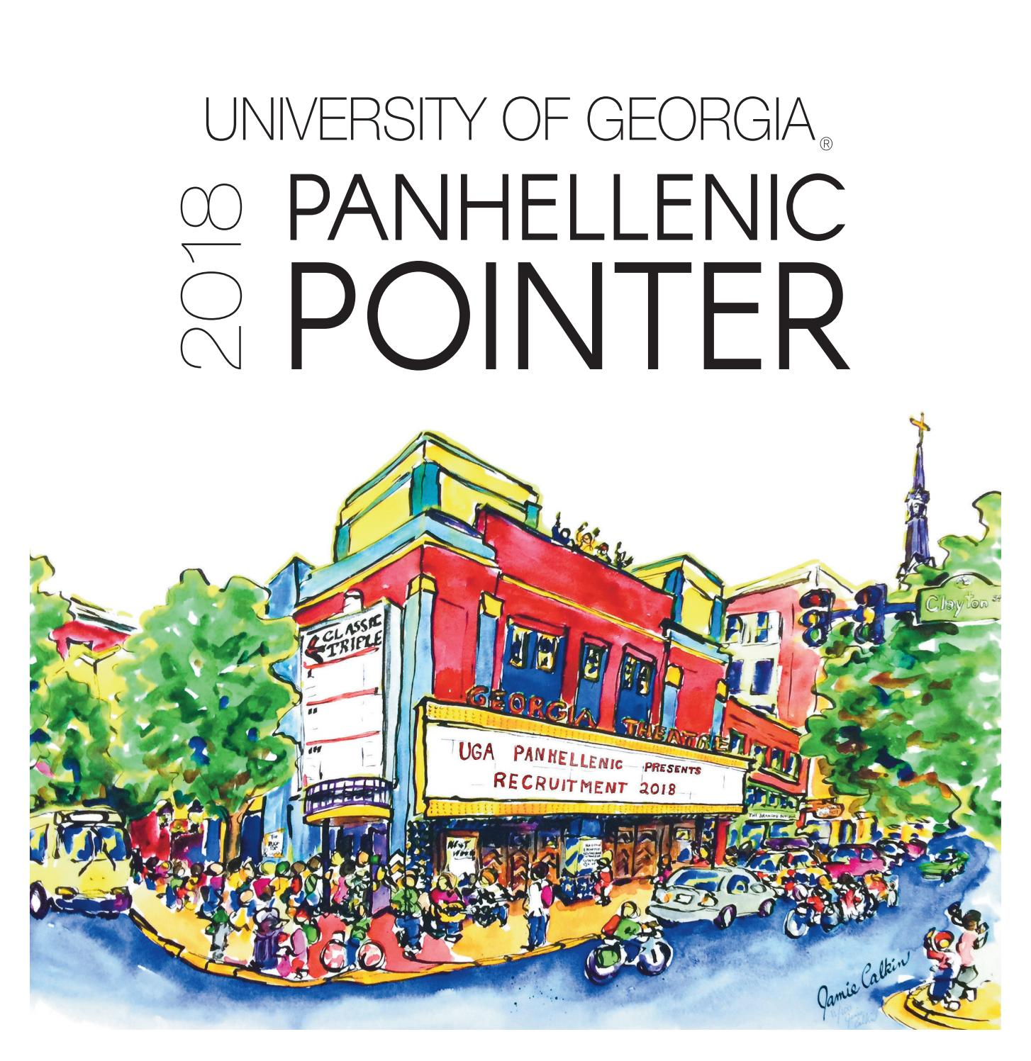 82a80706c21 The 2018 Pointer  UGA Panhellenic Recruitment Guide by UGA Panhellenic  Council - issuu