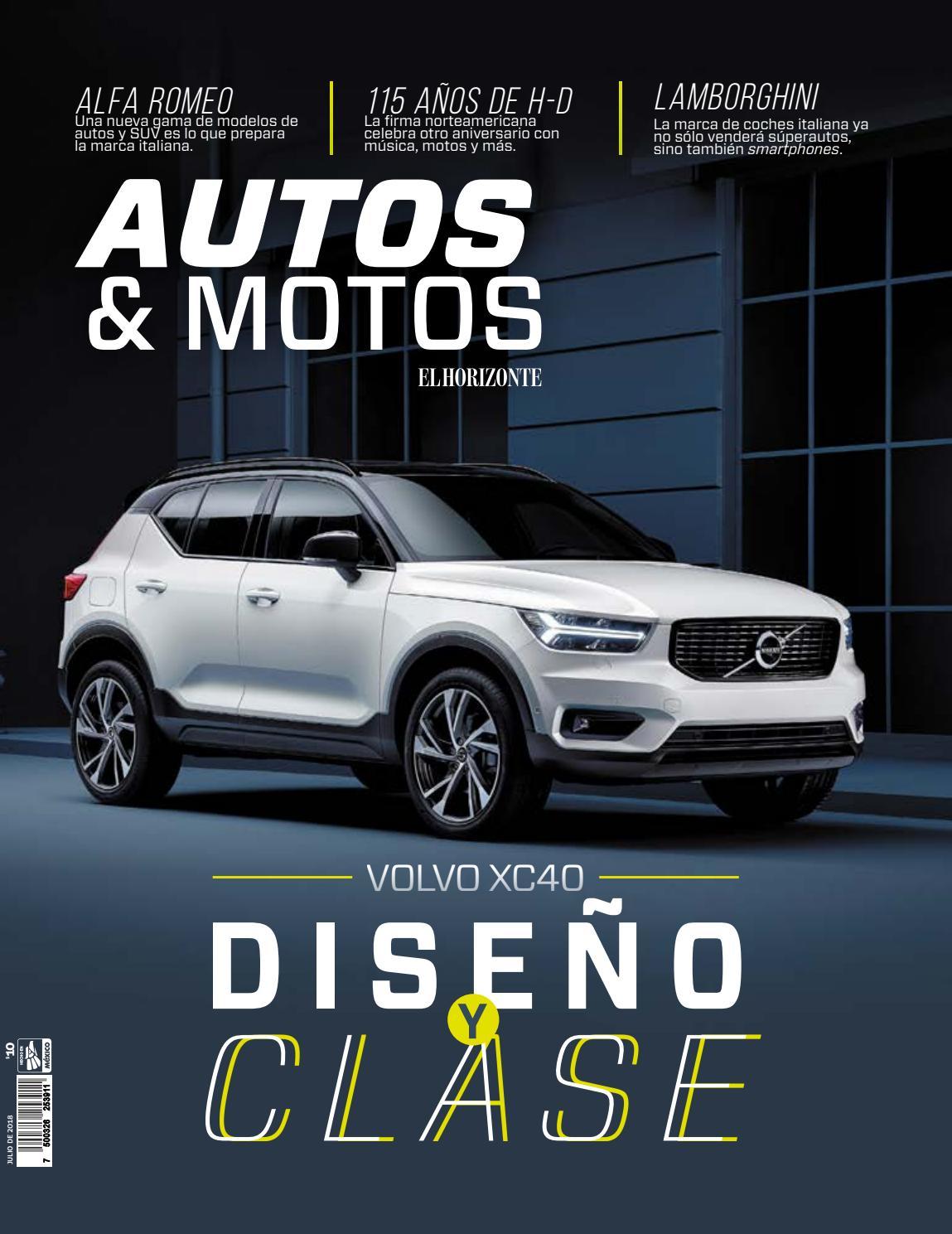 Autos & Motos - Julio 2018 by Estilo de Vida El Horizonte - issuu