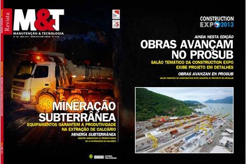 da368e7827cc5 Revista M T - Ed. 168 - Maio 2013 by Sobratema Publicações - issuu