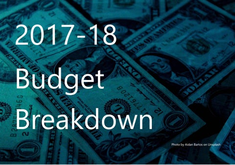 Page 4 of Budget Breakdown