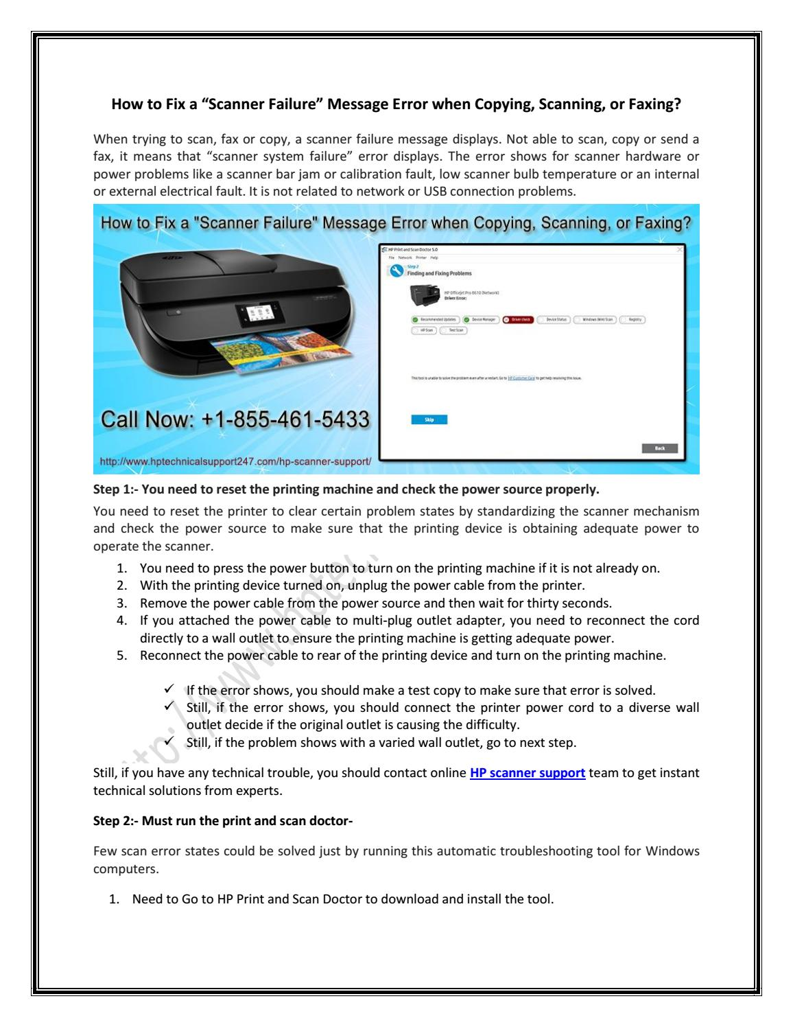 download hp printer scanner doctor