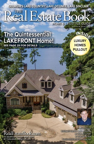 The Real Estate Book, Lake Area - Lake Oconee, Lake Sinclair