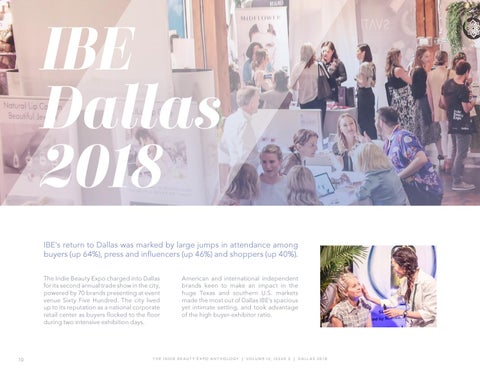 Page 10 of Indie Beauty Expo Dallas 2018