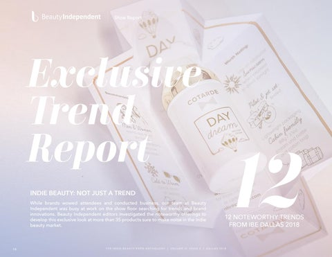 Page 14 of Beauty Independent Exclusive Trend Report