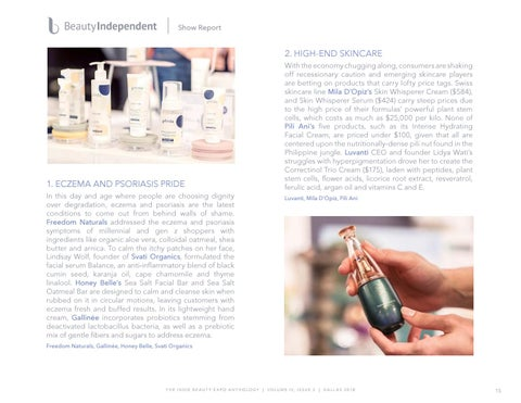 Page 15 of Beauty Independent Exclusive Trend Report