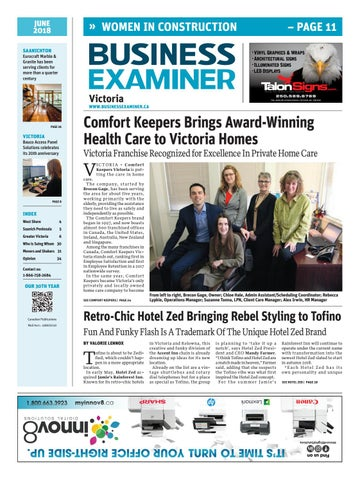 Business Examiner Victoria June 2018 By Business Examiner Media