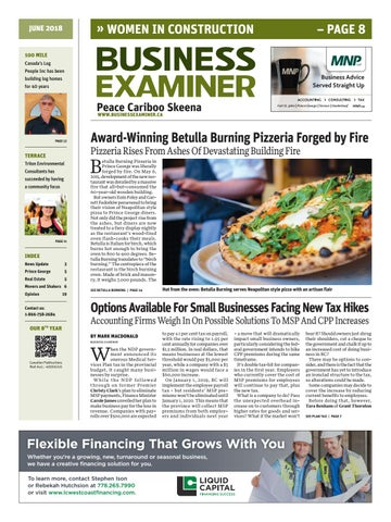 sports shoes 94131 e2974 Business Examiner Peace Cariboo - May June, 2018 by Business ...