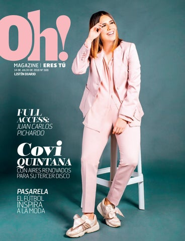 c109bb160 Oh Magazine 14-07-2018 by Listín Diario - issuu