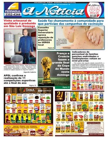 eefddd424 Dia 14 e 15 de julho by Jornal A Notícia - issuu