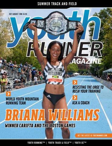 Youth Runner Magazine July August 2018 by Gosportz Media