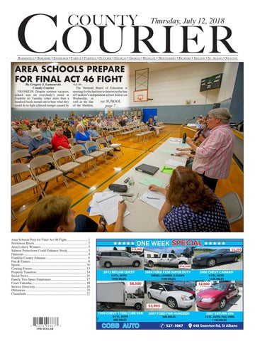 County Courier E Edition July 5 2018 By Countycourier Issuu