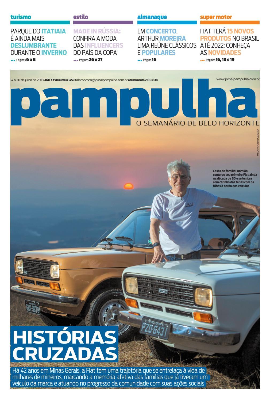 Pampulha - 14 a 20 de julho de 2018 by Tecnologia Sempre Editora - issuu 79f25397612bf