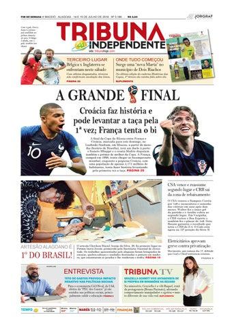 14404374f Edição número 3186 - 14 e 15 de julho de 2018 by Tribuna Hoje - issuu