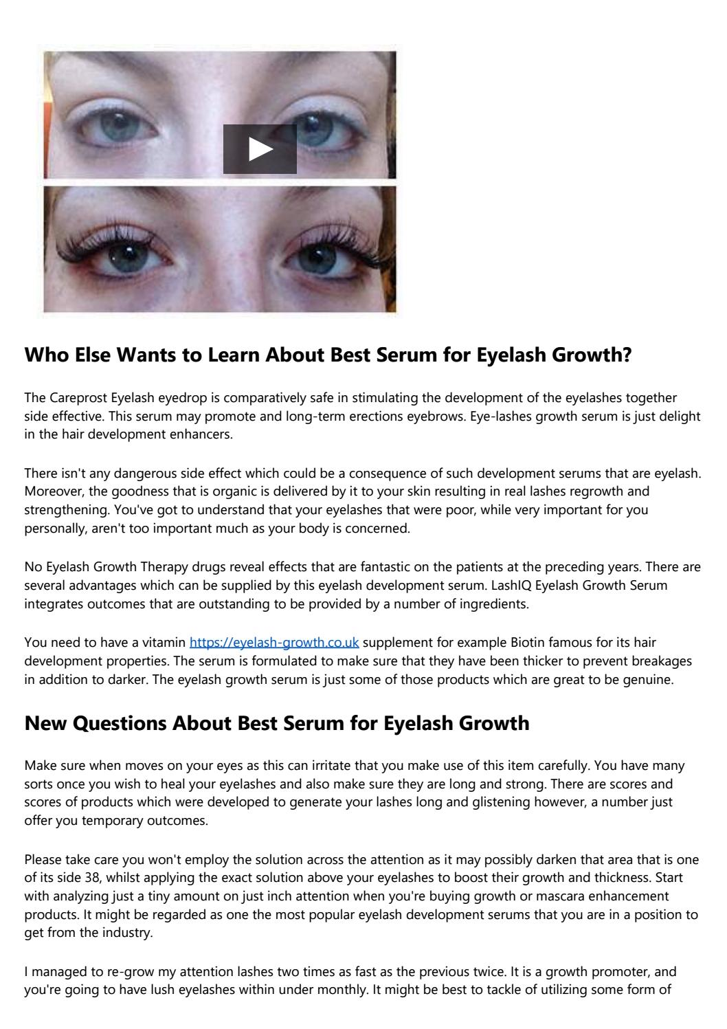 Why Almost Everything Youve Learned About Best Serum For Eyelash