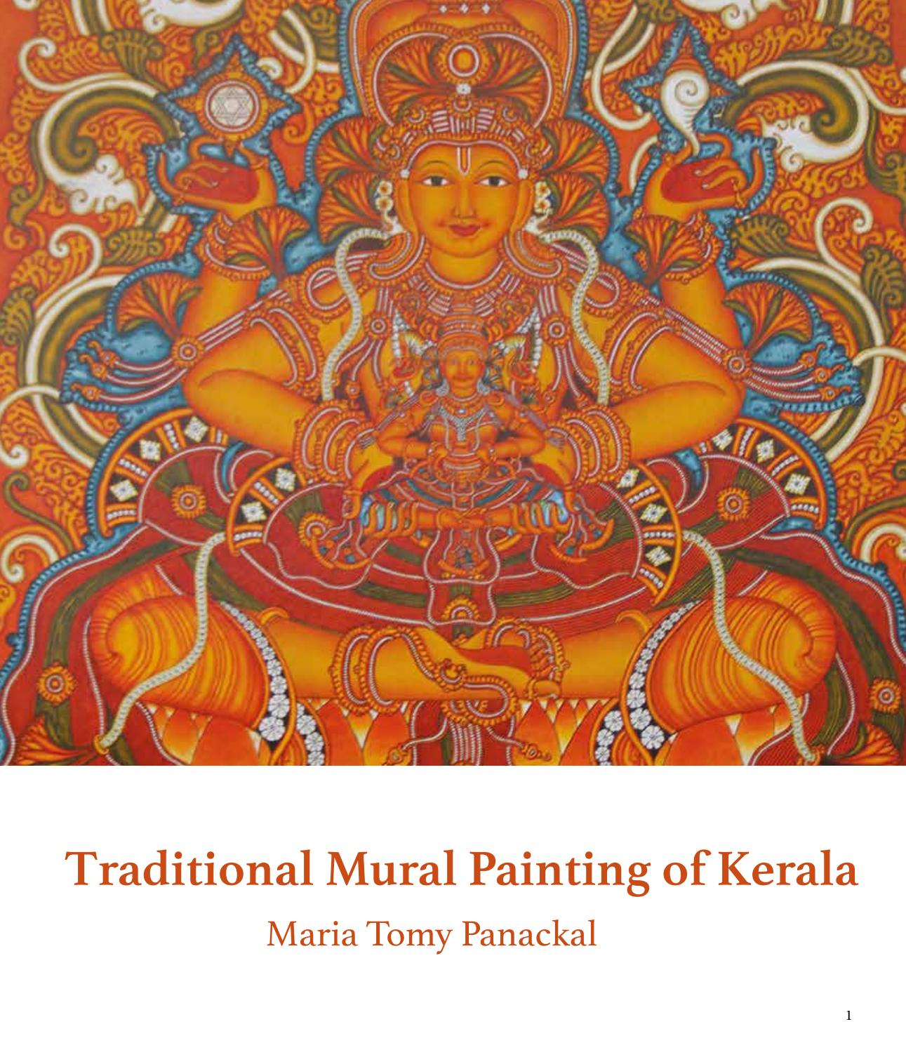 Traditional Mural Painting Of Kerala By Maria Panackal Issuu