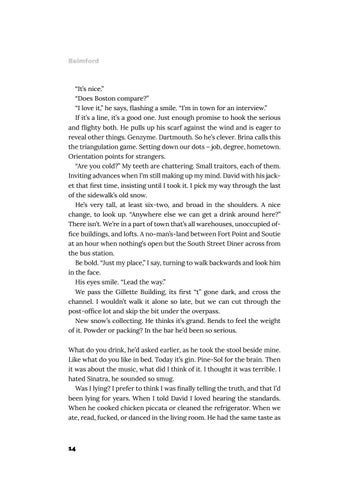 Page 15 of Under My Skin: Fiction by Caroline Beimford