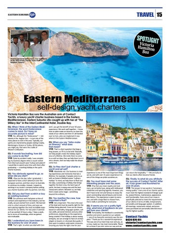 Page 15 of Eastern Mediterannean Yacht Charter