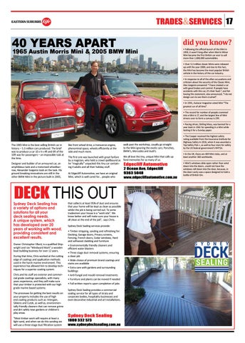 Page 17 of Edgecliff Automotive Advert