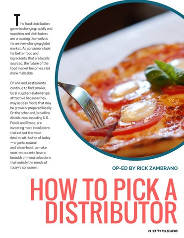 Page 29 of How restaurants can pick the right distributor