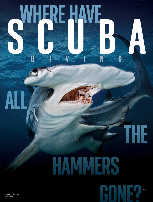 T shirt SCUBA diving nitrox technical mixed gas rebreather wreck diver shark