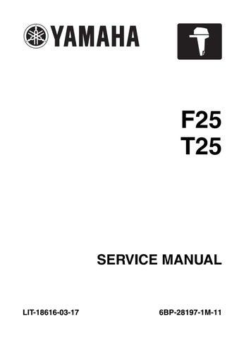 1998 yamaha e60 hp outboard service repair manual