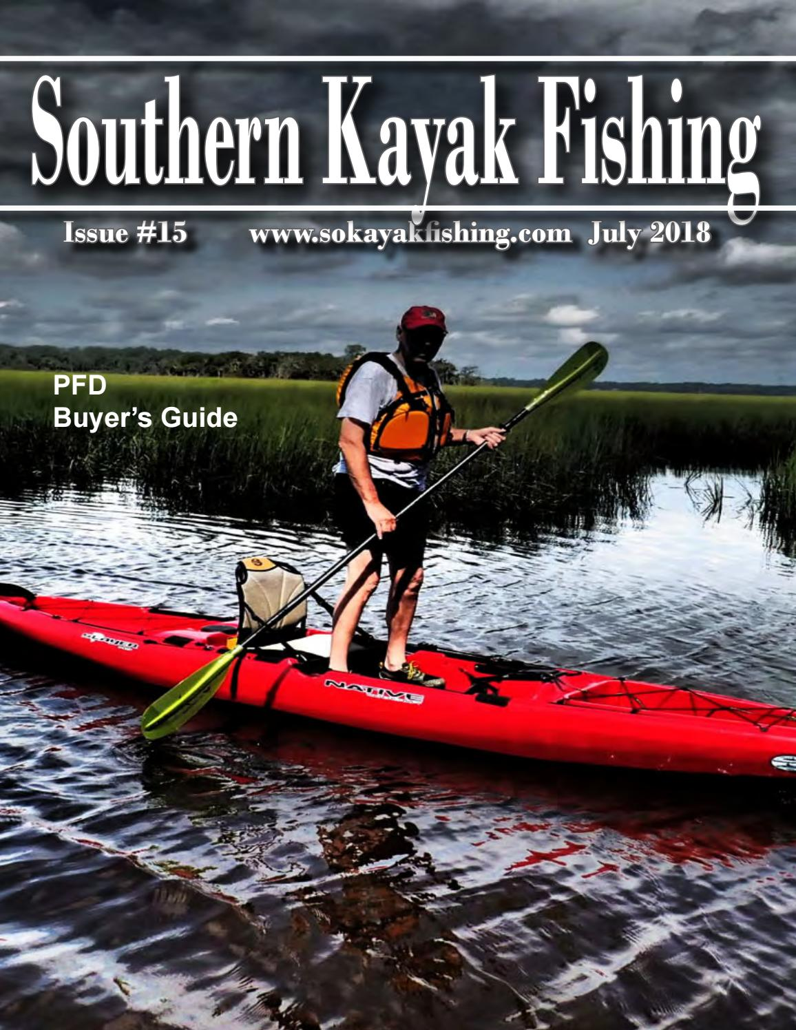 southern kayak fishing issue 15 by southern unlimited, llc issuuBowline Knot Besides Plastic Mesh Ting On Water Rescue Harness #11