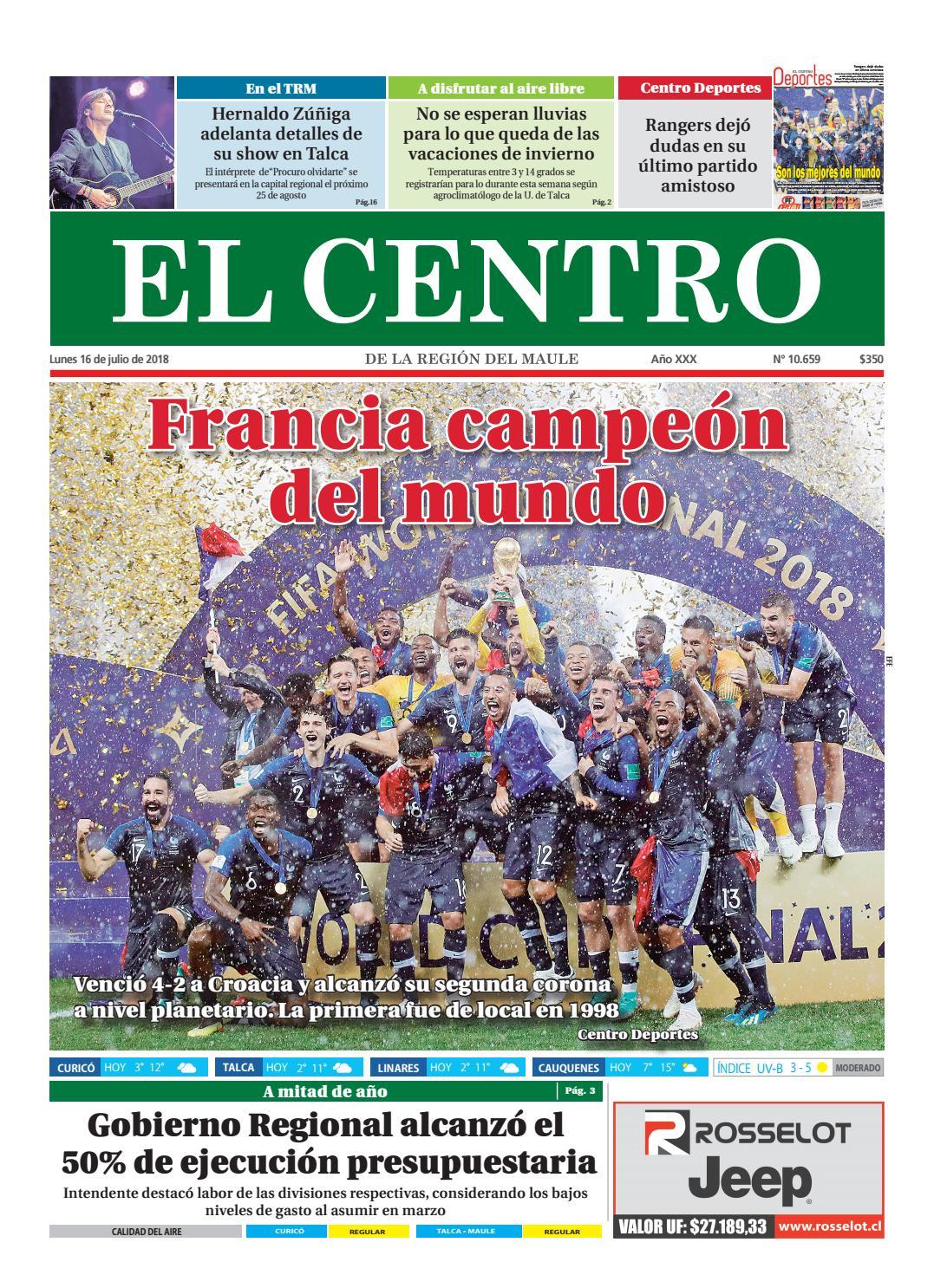 Diario 16-07-2018 by Diario El Centro S.A - issuu 70812bd296e