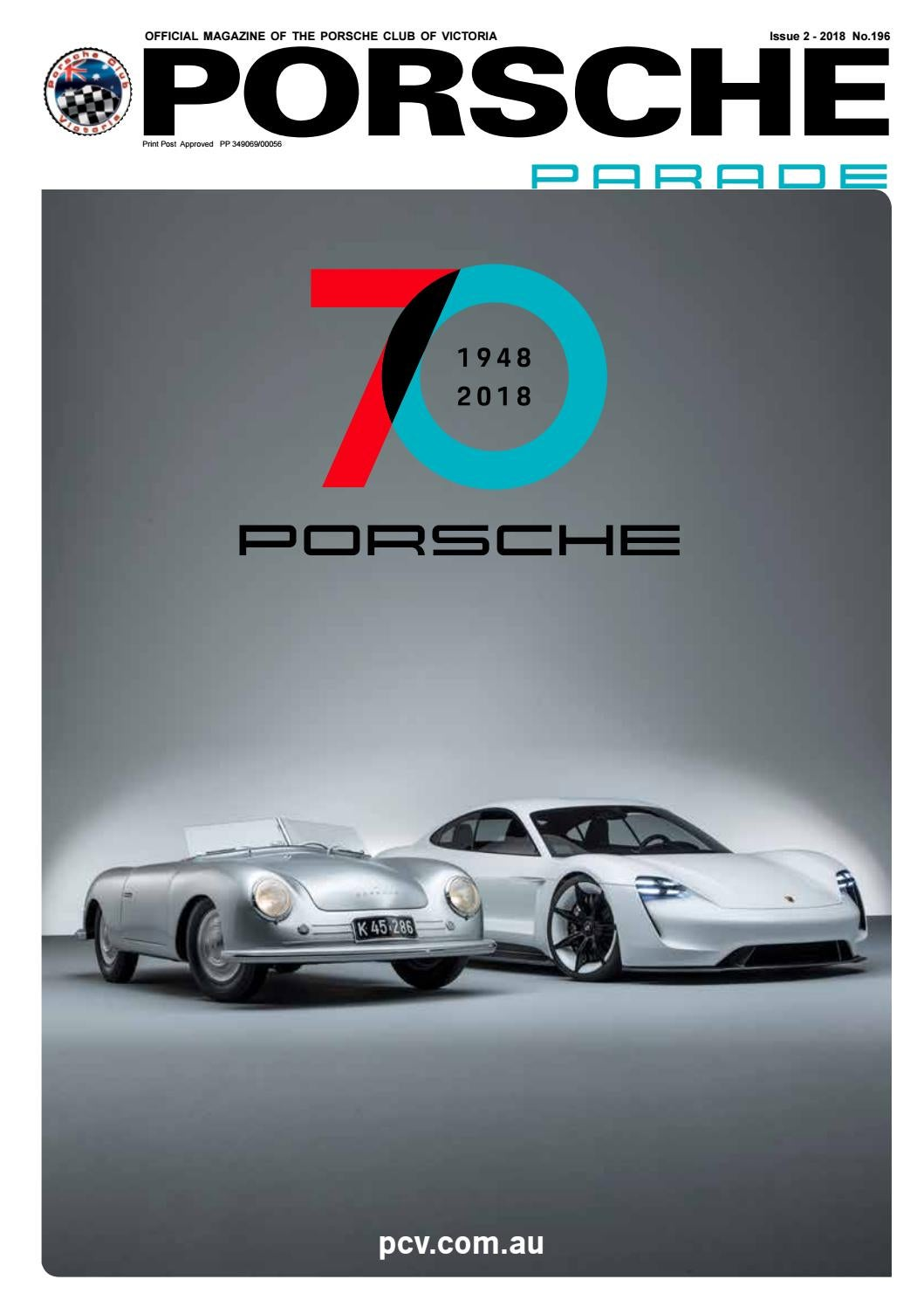 1988 Porsche 356 Registry Magazine Vol# 13 No 1 June 1988 RARE Awesome L@@K